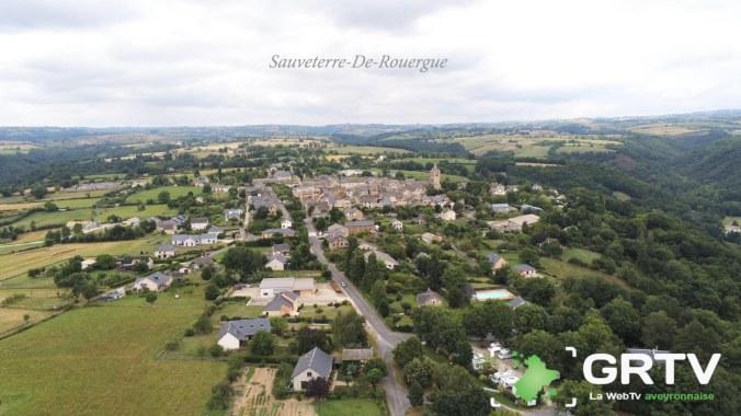 sauveterre-De-Rouergue photo drône