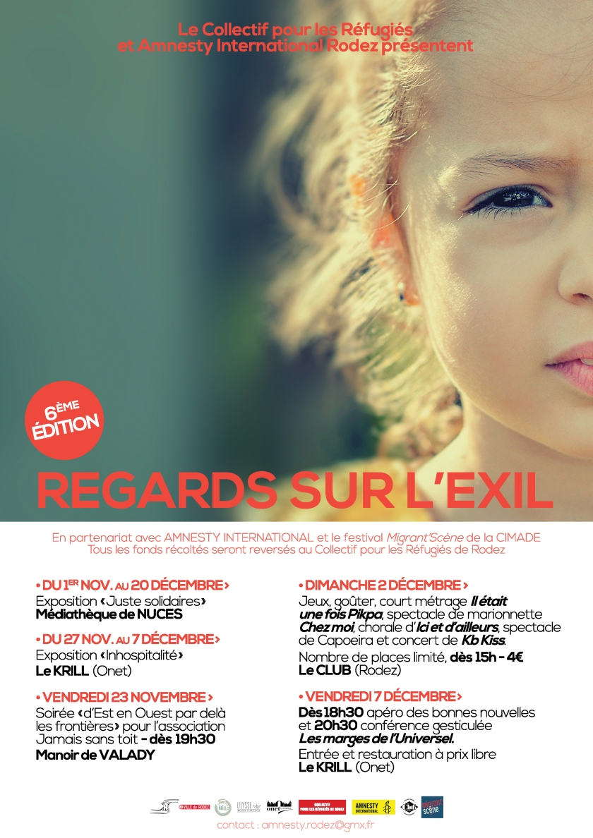 regards sur l'exil